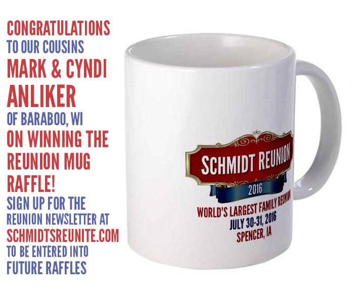 Mug Raffle Winner