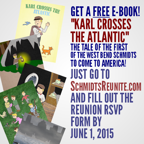 RSVP & get free eBook of Karl Crosses the Atlantic