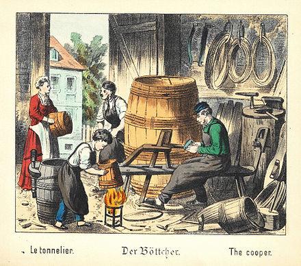 der Böttcher 1880