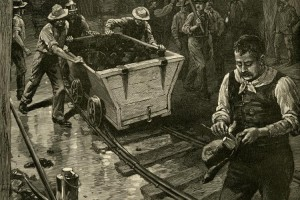 Coal Miners at Work 1887