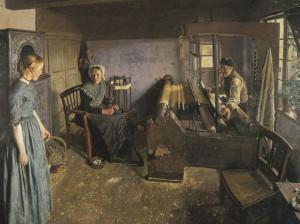 Linen weaver family