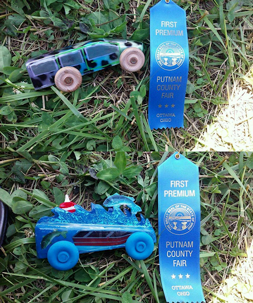 Lolla and Lilly Tenwalde Cars (small)