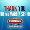 Thanks to Keith & Marcia Schmidt!