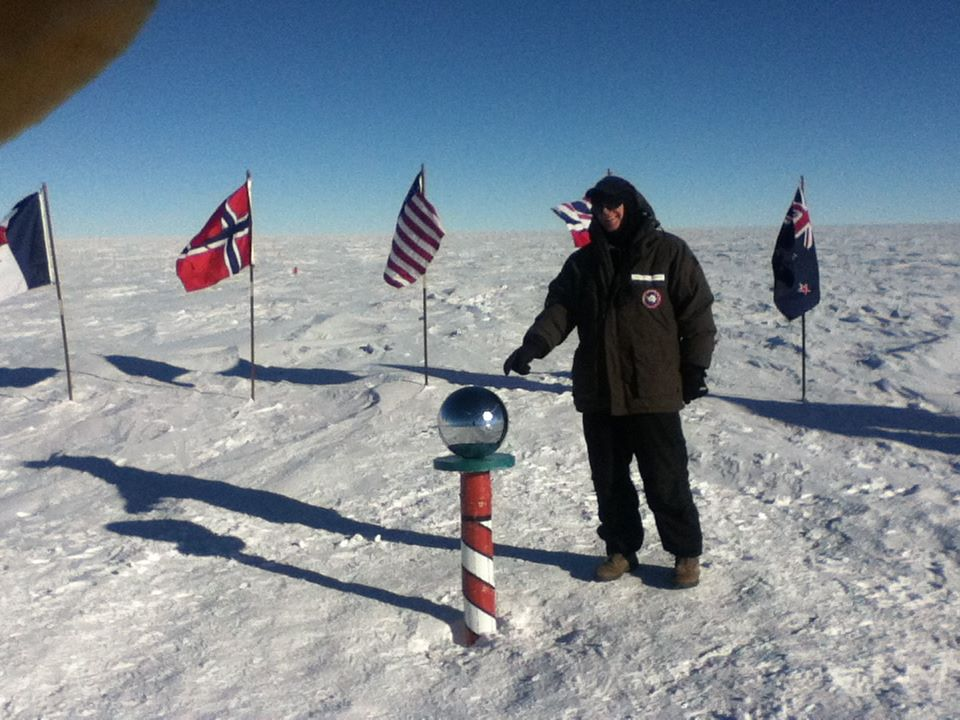 Kent Schmidt at South Pole