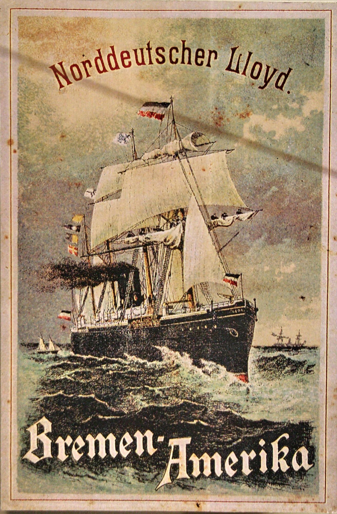 Norddeutscher Lloyd - Bremen-Amerika
