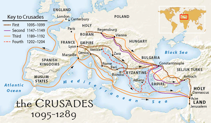 Crusade Routes