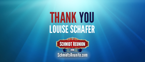 Thank You - Louise Schafer