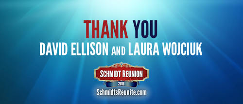 Thank You - David Ellison and Laura Wojciuk