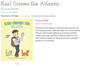 Karl Crosses The Atlantic online screenshot