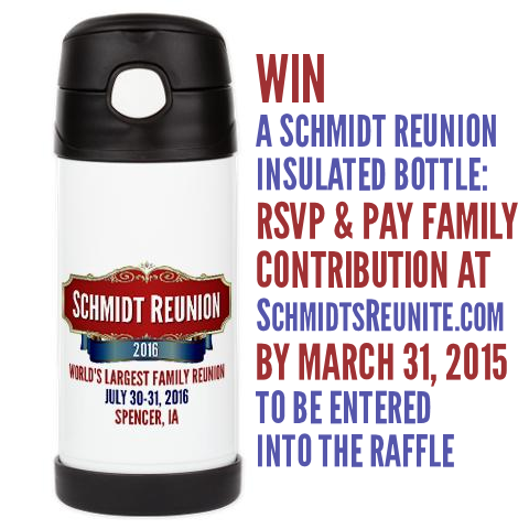 Insulated Bottle Raffle