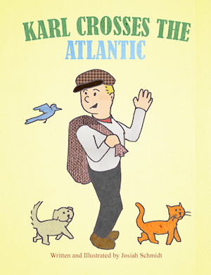 Karl Crosses the Atlantic front cover