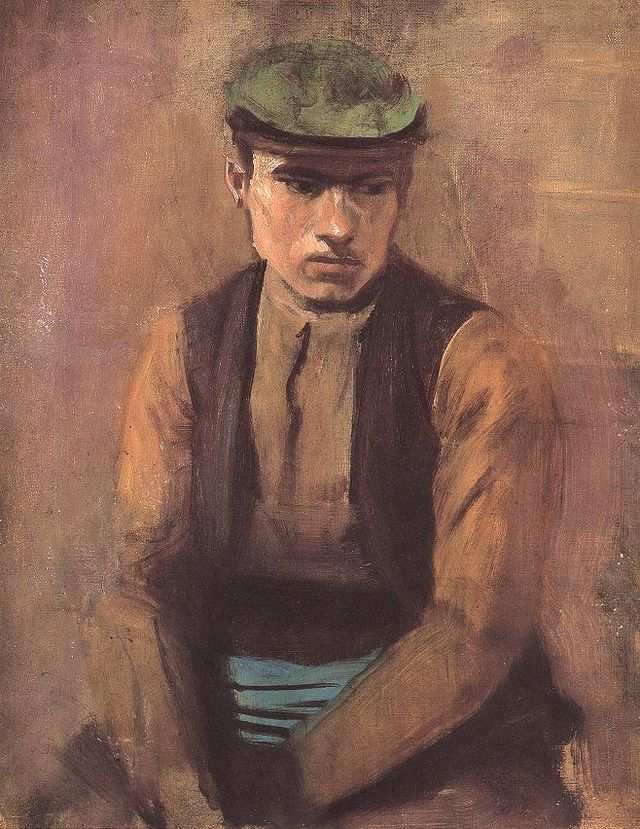 Day Laborer, by László Mednyánszky (1852–1919) (Wikimedia commons)