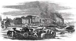 Saint Louis in mid 1800s
