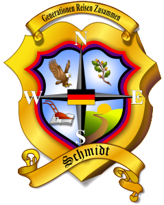 Official Schmidt Family Crest (High Definition)