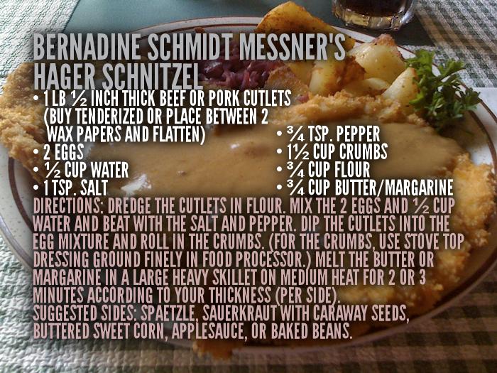 Hager Schnitzel Recipe