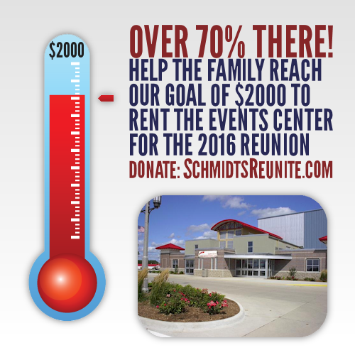 Thermometer - 70 Percent to Events Center