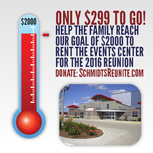 Thermometer - 85 Percent to Events Center