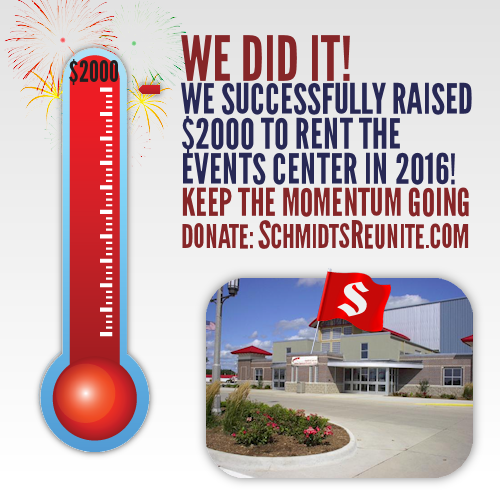 Thermometer - Success for Events Center