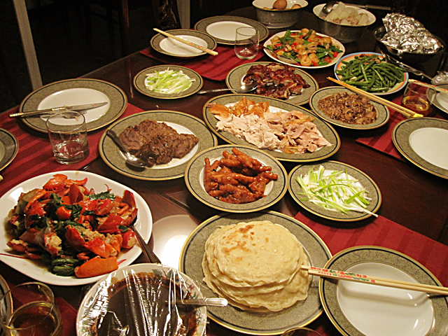 Feast spread