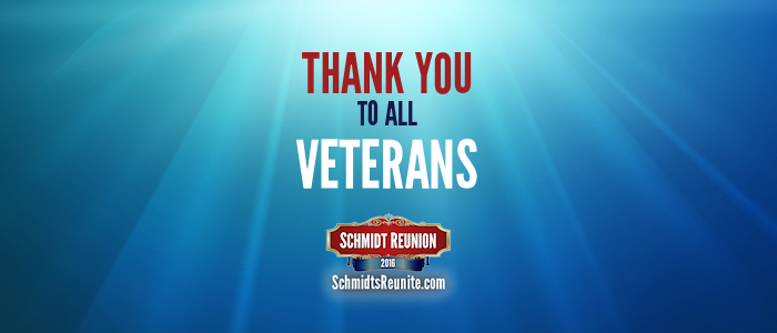 Thank You to Veterans