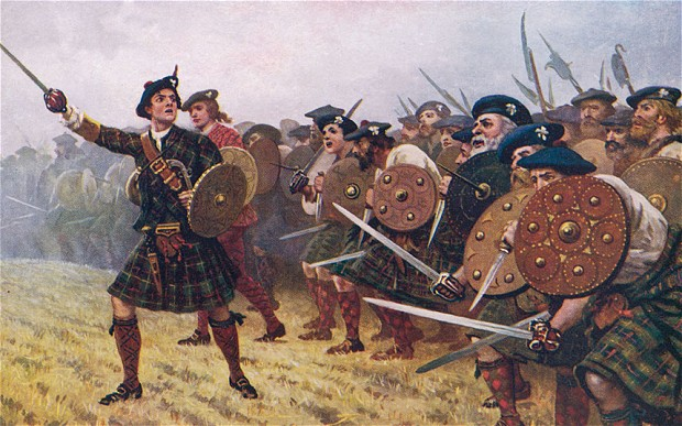 Medieval Scottish Warriors