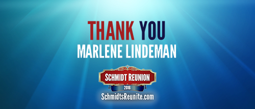 Thank You - Marlene Lindeman