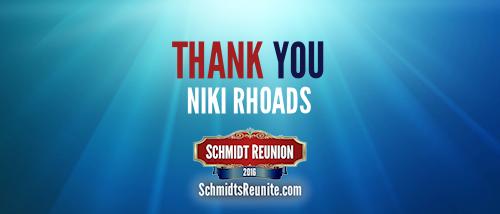 Thank You - Niki Rhoads
