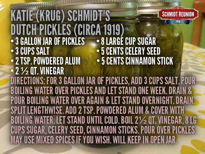 Dutch Pickles Recipe