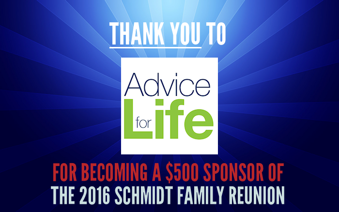 Sponsor Thanks - Advice For Life