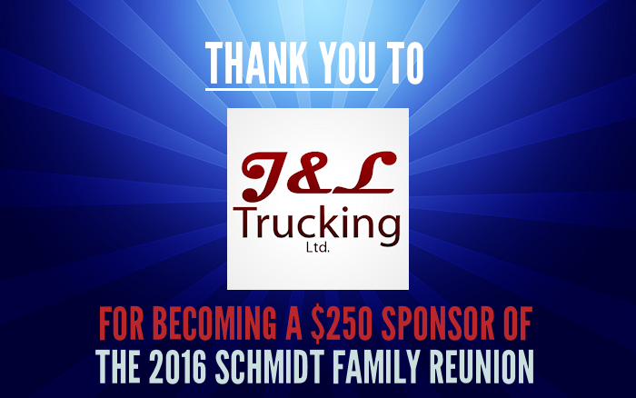 Sponsor Thanks - J&L Trucking