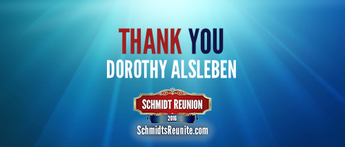 Thank You - Dorothy Alsleben