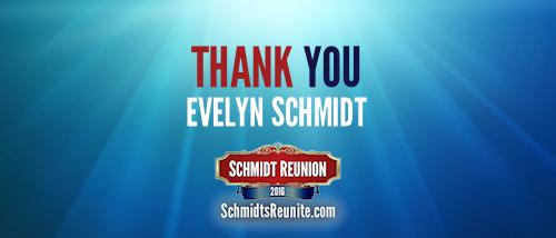 Thank You - Evelyn Schmidt