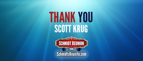 Thank You - Scott Krug